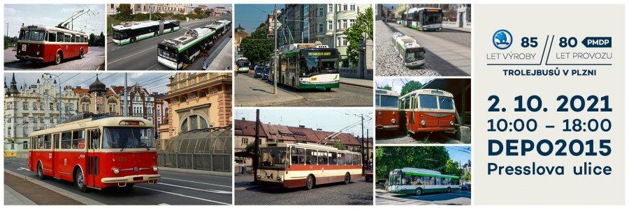 85 let výroby / 80 let provozu trolejbusů v Plzni