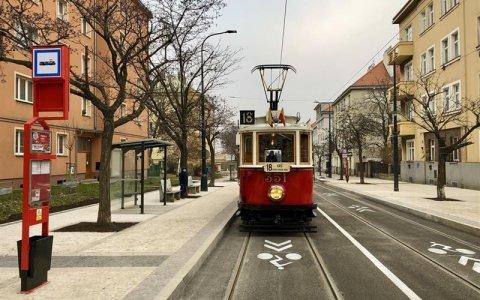 DPP zrekonstruoval tramvajovou trať v ulicích Na Veselí a Soudní a postavil novou ke stanici metra Pankrác